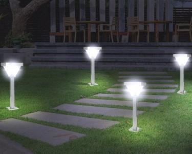 Utiliser les luminaires pour le d cor de son jardin pav - Luminaires de jardin ...