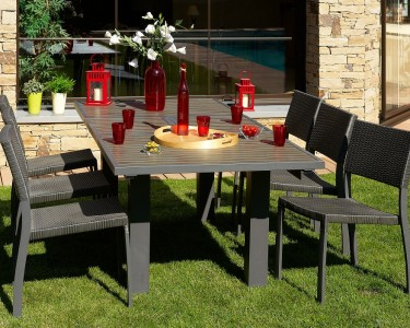 mobilier de jardin en composite