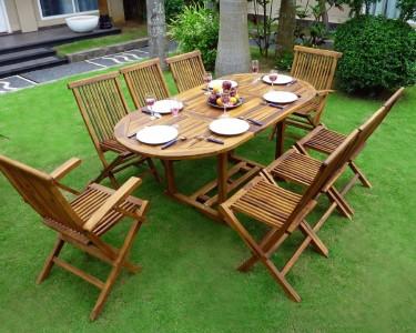 mobilier de jardin en teck