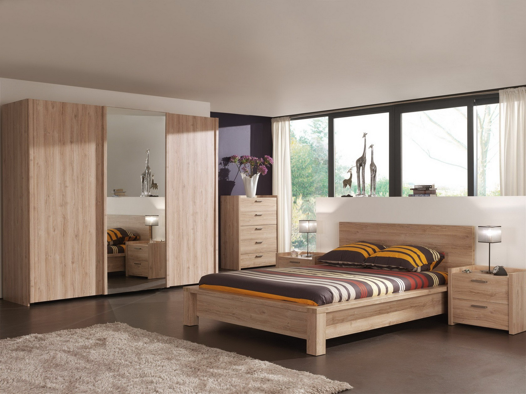chambre a coucher habitat avec des id es int ressantes pour la conception de la. Black Bedroom Furniture Sets. Home Design Ideas