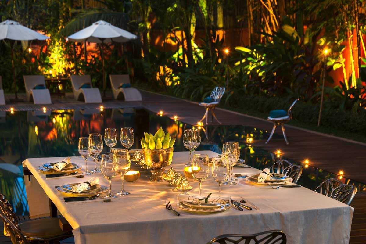 Un dîner romantique très high-tech chez vous